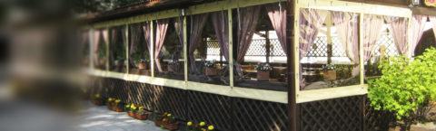Мягкие окна для ресторанов и кафе